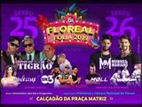 Floreal Folia agita a região no final de semana